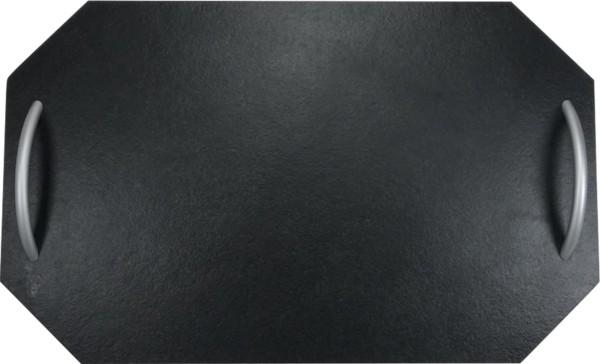 Schieferplatte Achteck mit Griff 30x50 cm