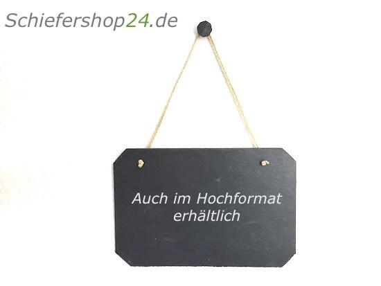 Schieferplatte Wandtafel 20 x 30 cm