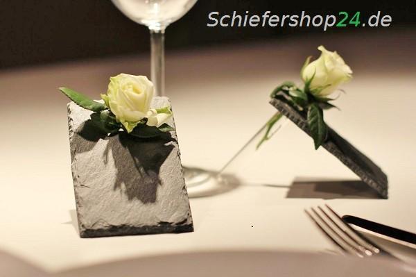 Schiefer Tischkärtchen
