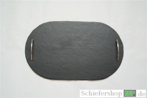Buffetplatte 30 x 60 cm oval