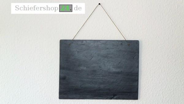 Schieferplatte Wandtafel 30 x 40 cm