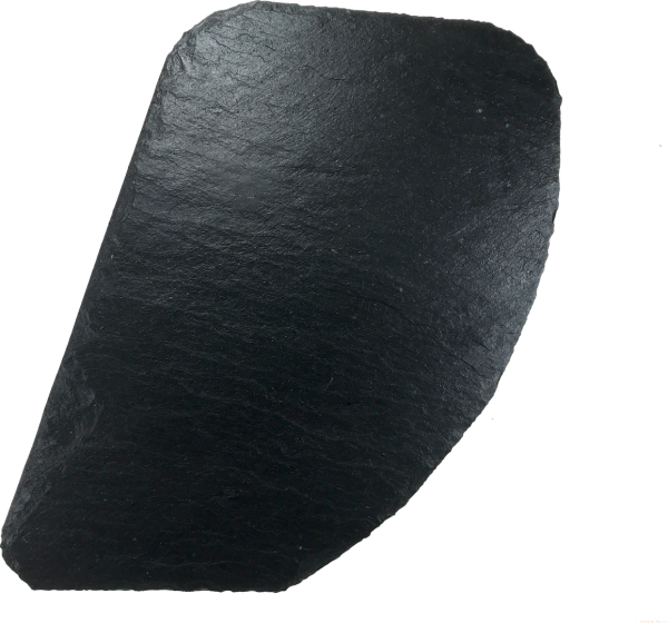 Schieferplatte 23 x 27 cm, Schuppe