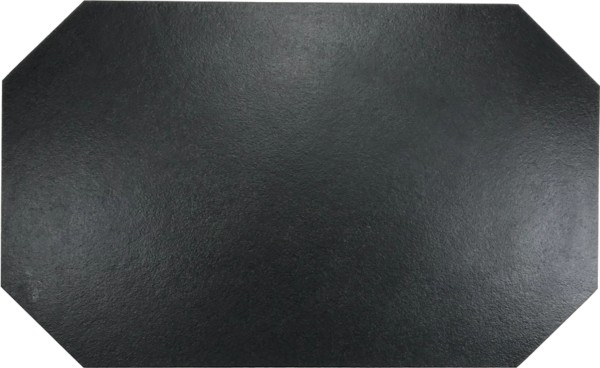 Schieferplatte 25 x 50 cm, achteckig