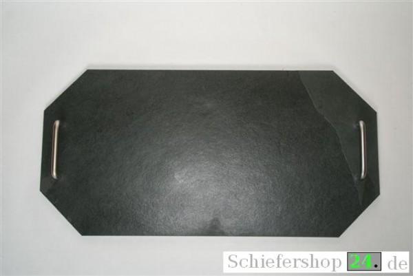 Buffetplatte 25 x 50 cm, achteckig