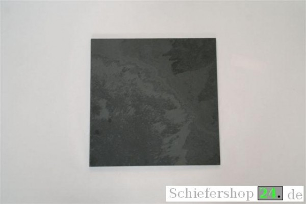 Schieferplatte 25 x 25 cm, Quadrat